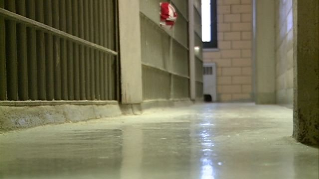 Inside the Adams County Jail that sheriff's officials say needs to be replaced.