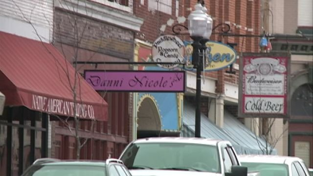 Downtown businesses get back to normal following Saturday night's shooting.