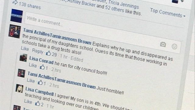 Parents and community members react to the news of Foust's drug charges on WGEM News's Facebook page.