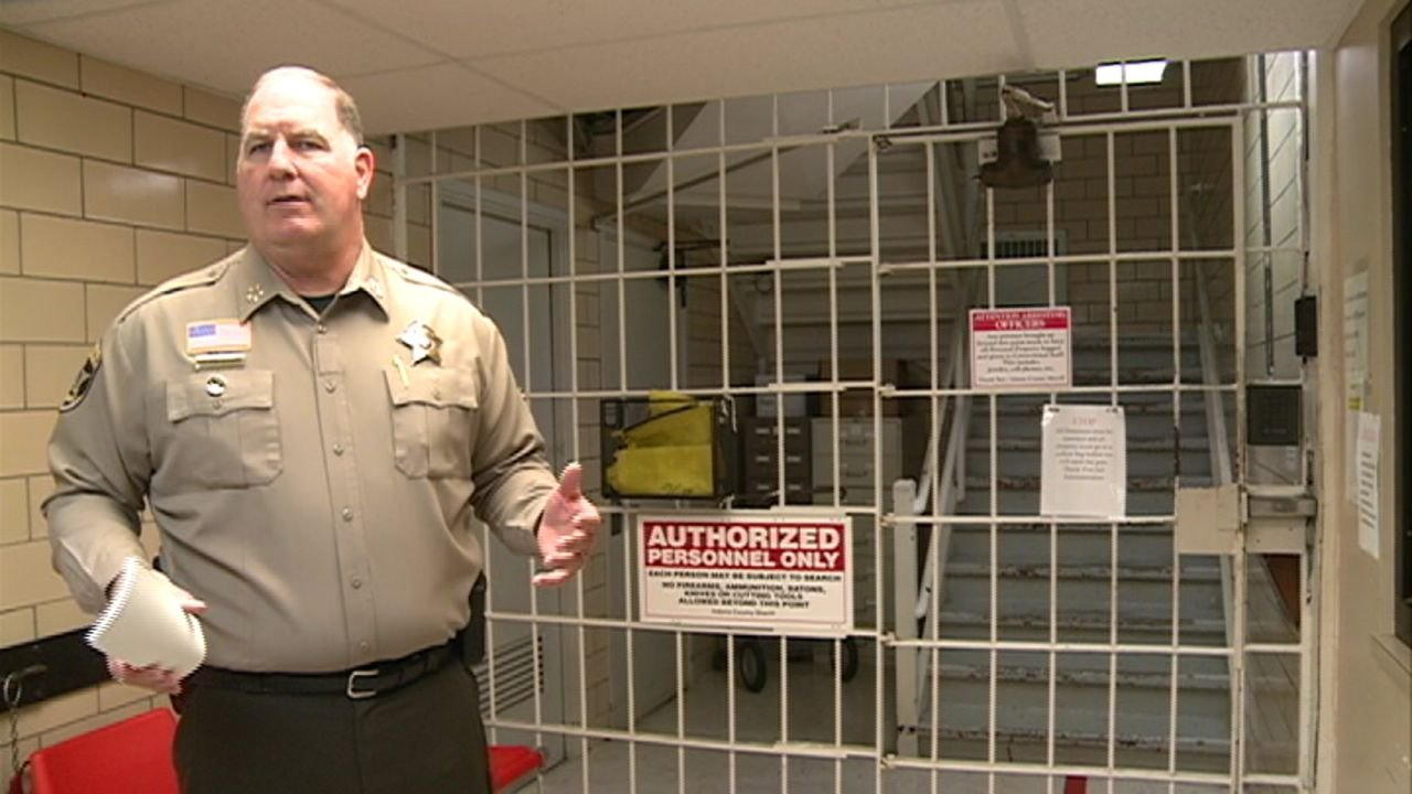 Adams County jail main gate