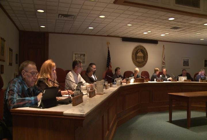 An Adams County resident spoke out against the jail referendum at Monday night's Quincy City Council meeting