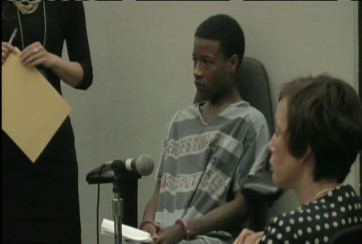 Steson Crider in a Maricopa County courtroom Wednesday afternoon.