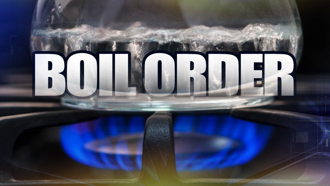 Mill creek boil order