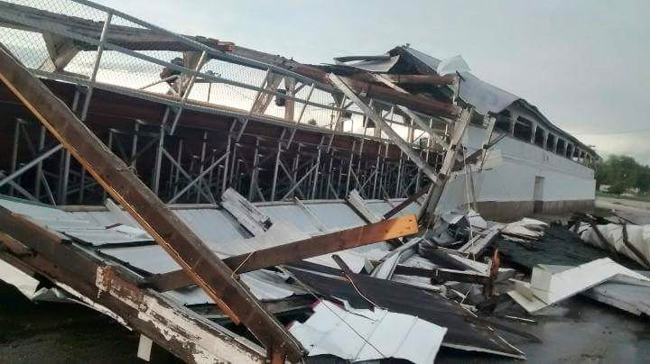 Griggsville Grandstand - Courtesy Pike County Sheriff's Office