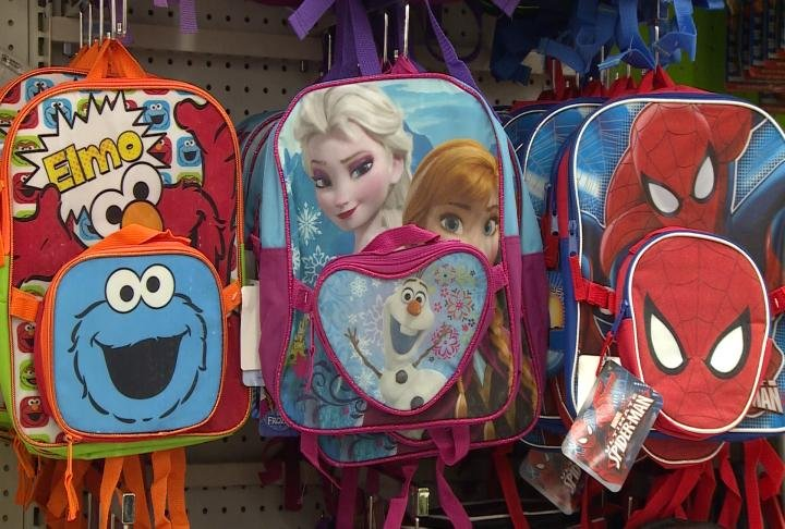 Backpacks are a big point of emphasis headed into a new school year as experts stress finding the right size, fit, and controlling how much weight being carried can have an impact on long term back problems in kids.