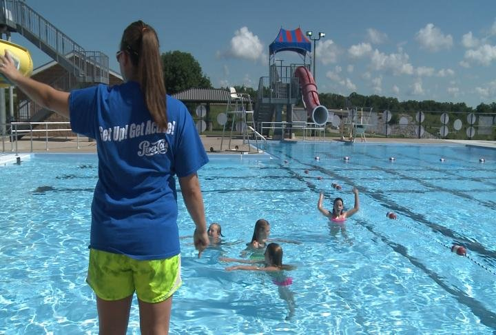 As Drowning Risk Rises Local Kids Learn Pool Safety Ktiv News 4 Sioux City Ia News Weather