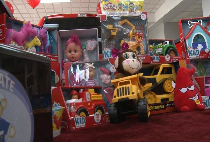 Display Toys For Tots : Toys for tots campaign kicks off in northeast missouri