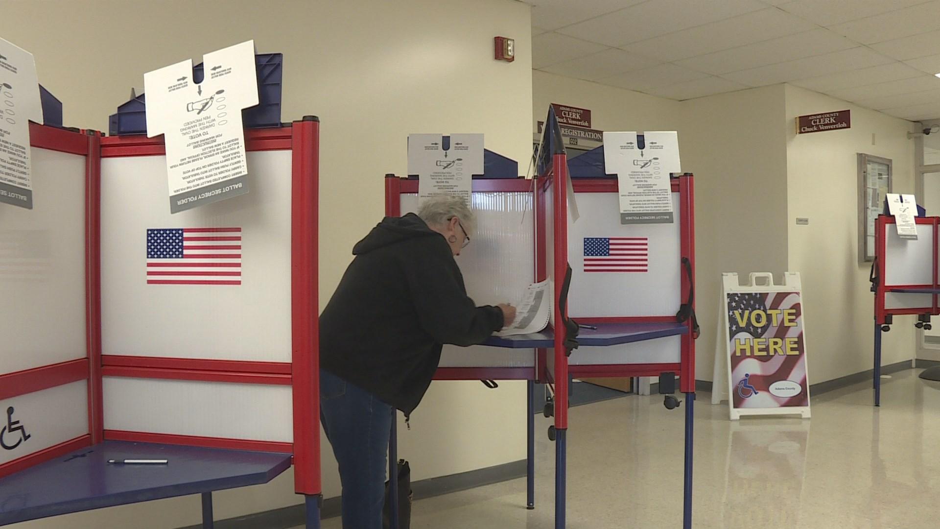 clerk glitch found during voting machine testing ktiv news 4