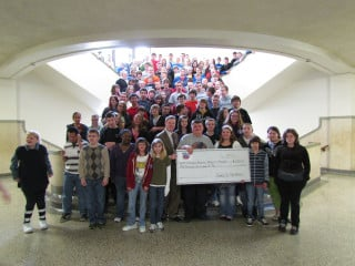 Quincy Junior High raises $1,200 in two days for Honor Flight