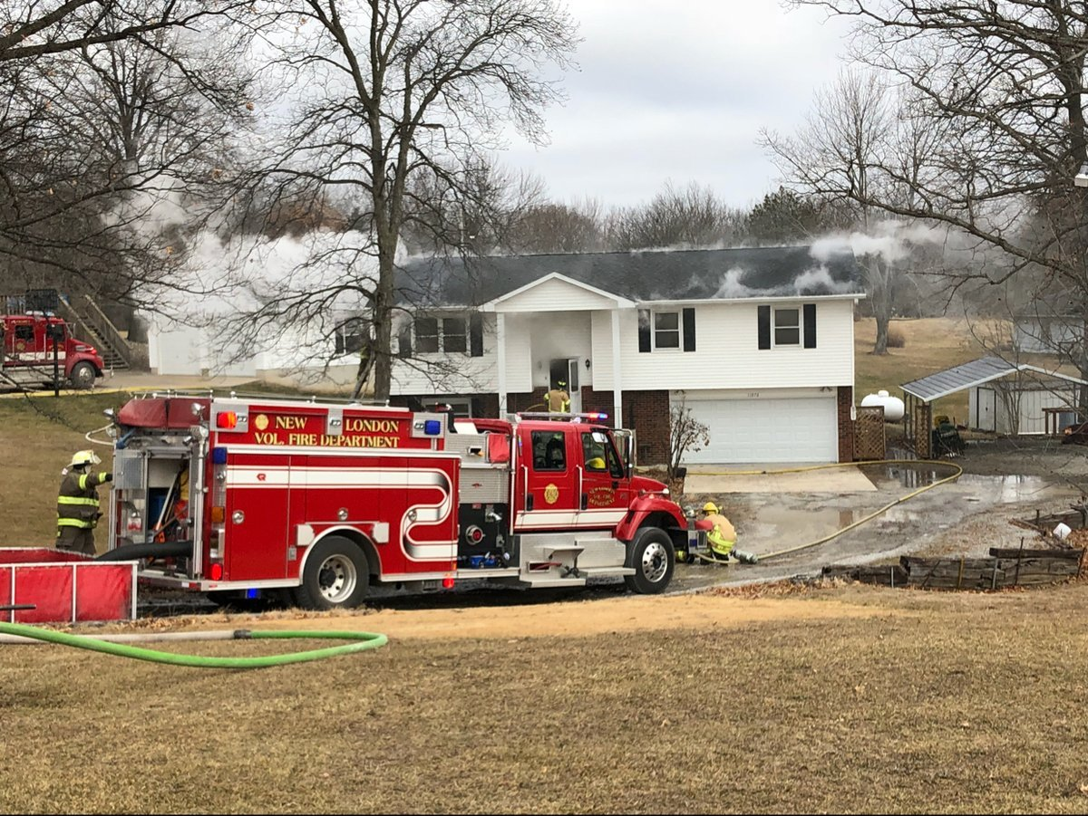 Rural Hannibal fire causes heavy smoke, water damage ...