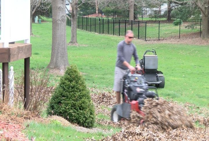 warm weather helps lawn care businesses