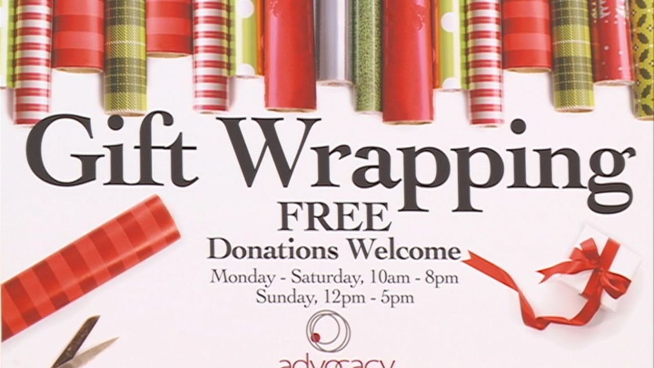 wrapping paper fundraiser