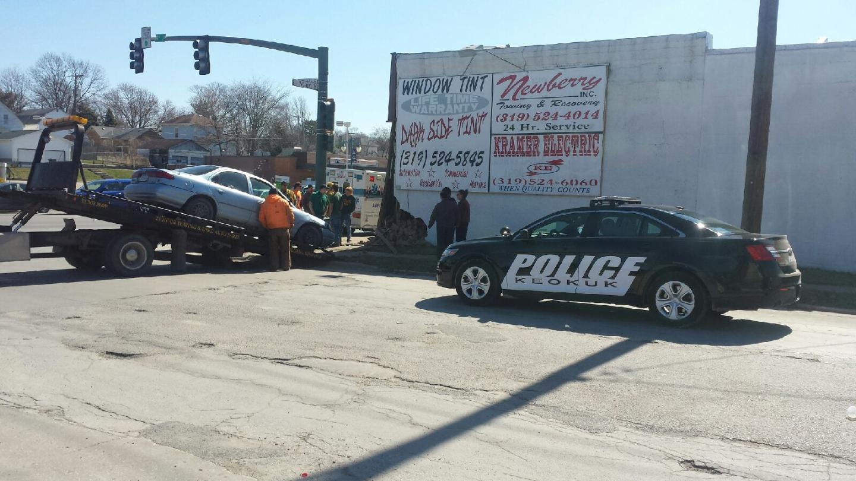 Keokuk Iowa Car Crash
