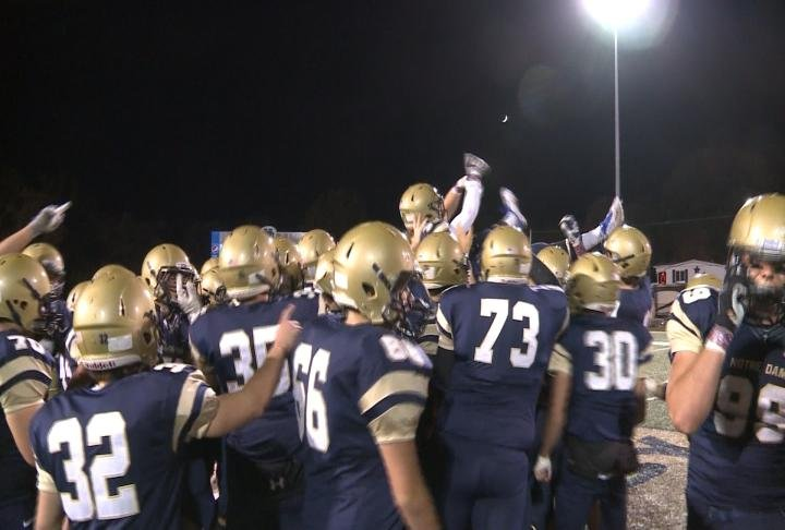 QND football prepares for rivalry game with Quincy High ...