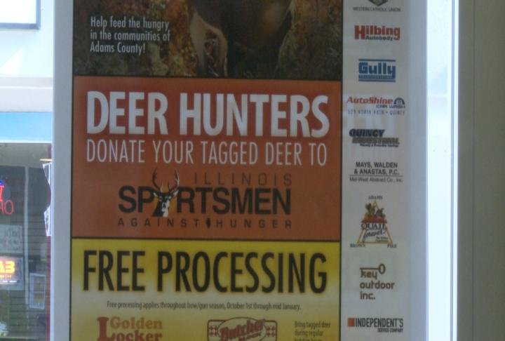 sportsman against hunger call on community donations to
