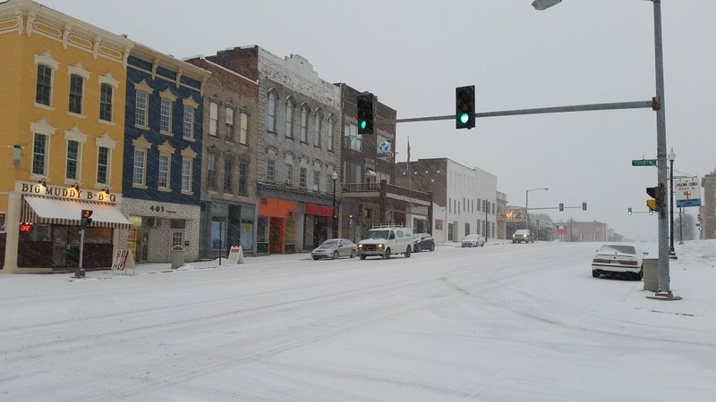 Slick snow covered roads reported around the area for Cole motors bluefield wv