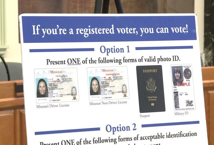 Some forms of IDs that can be used to vote