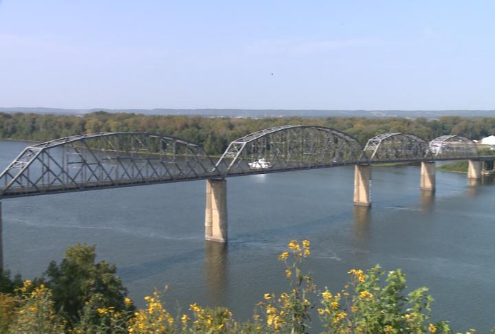 The Champ Clark bridge project broke ground on Friday.