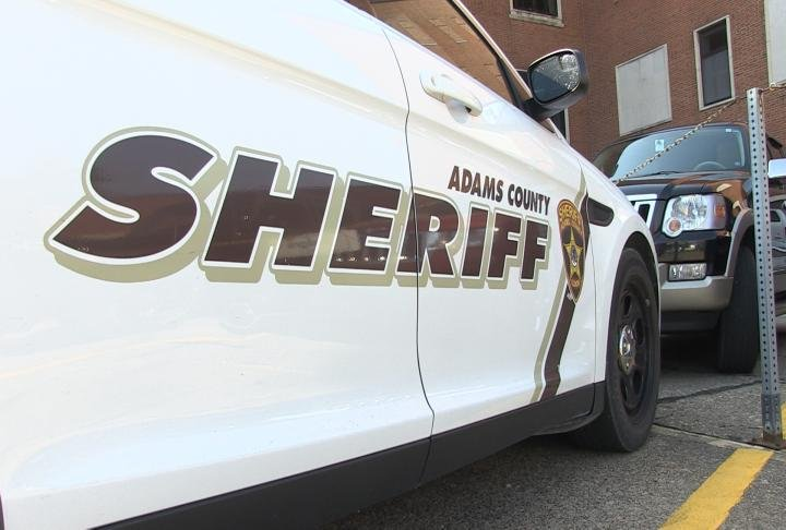 Adams Cuunty Sheriff patrol car