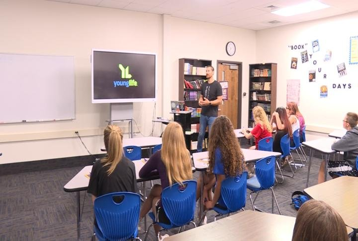Local organizations held break out sessions for students