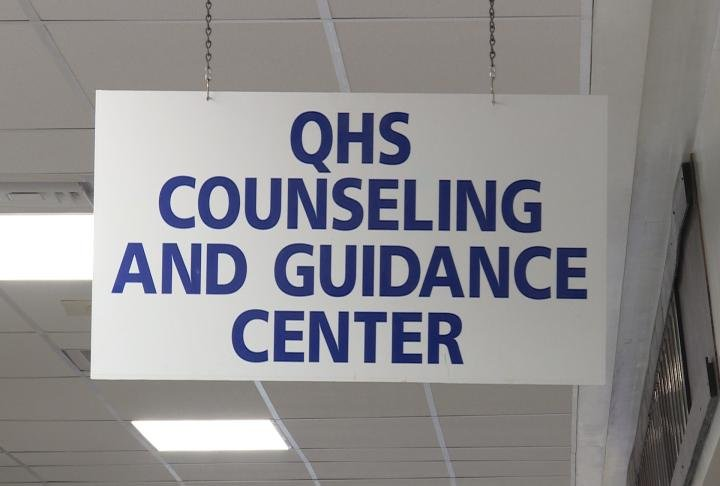 The guidance center at QHS