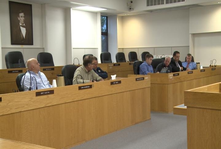 Jail subcommittee members discuss options with the jail.