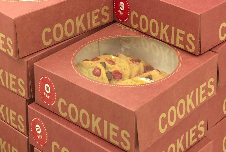 Hy-Vee said costumers helped raise the money during the month of August by buying boxes of cookies.