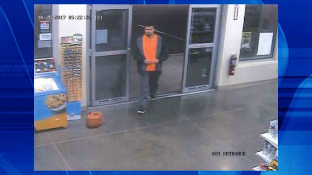 This man is accused of tampering with a vehicle.