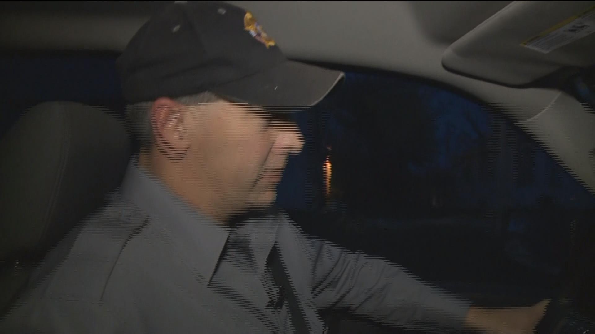 Knox County Sheriff Robert Becker lets a WGEM news crew ride along during sex offender compliance checks on Halloween.