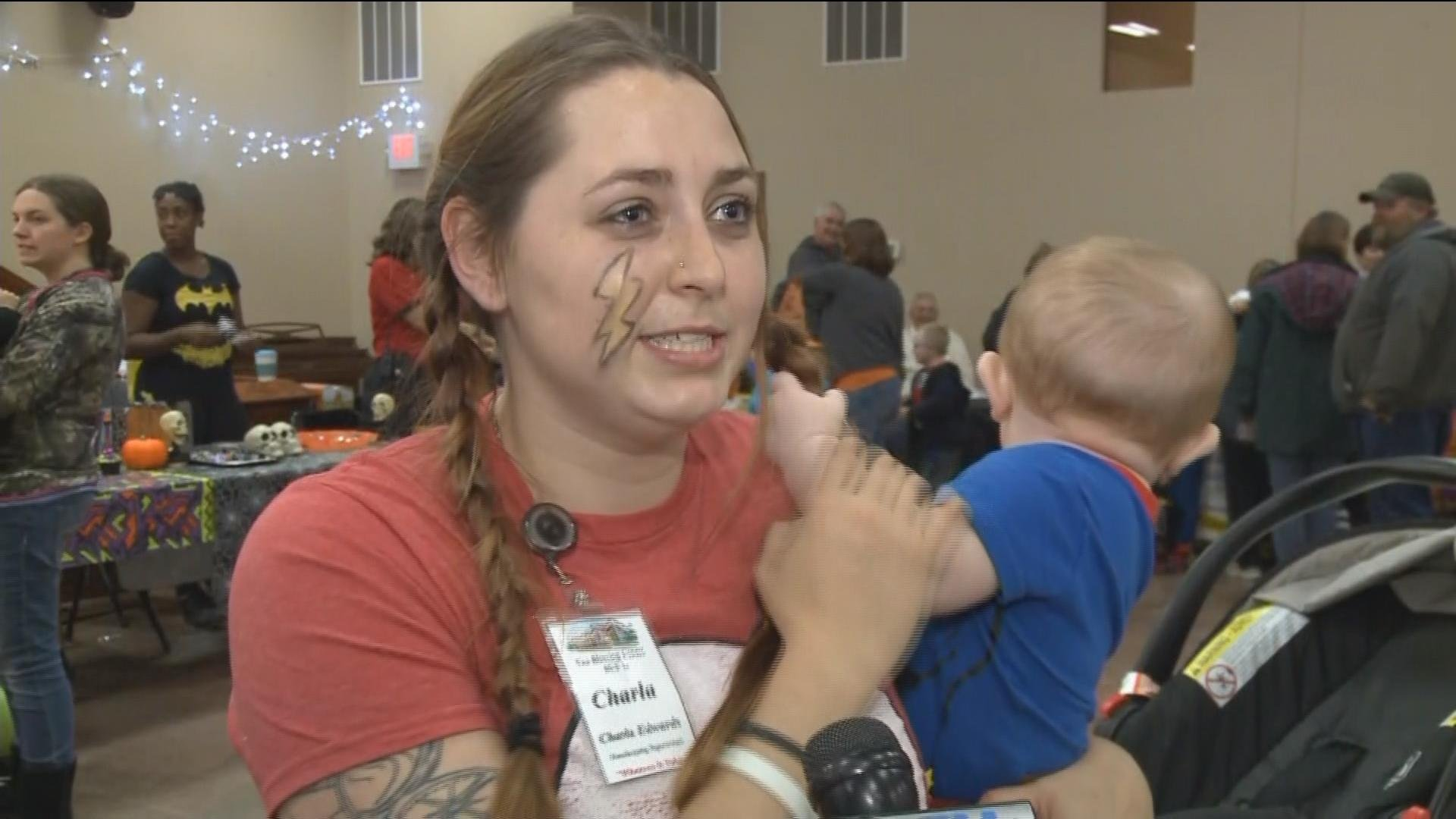Charla Edwards is a mother of two and appreciates that Knox County deputies do sex offender compliance checks.