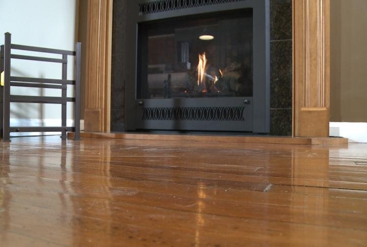 Miller says even gas fireplaces should be inspected from year to year.