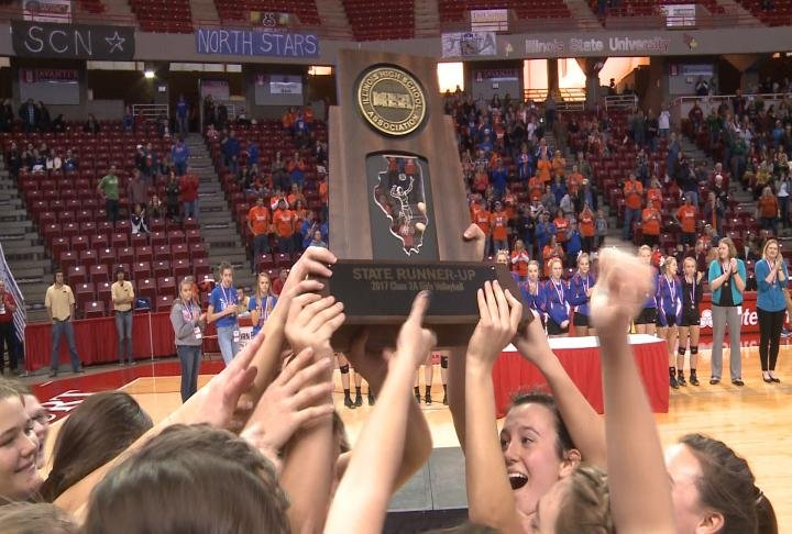 QND's second place finish resulted in the 10th state tournament trophy in program history.