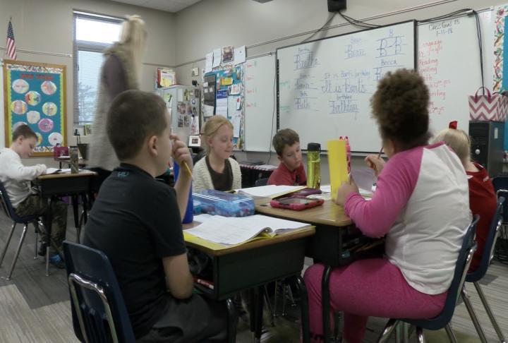 QPS students in classroom