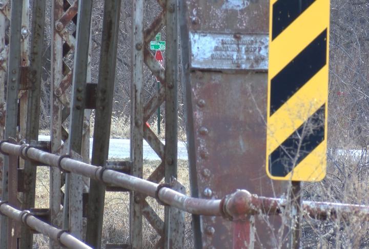 The bridge in Taylor shut down in November.