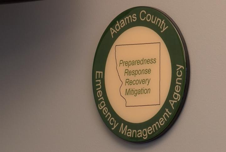 Adams County emergency management agency commented on the Hawaii's false missile alert.
