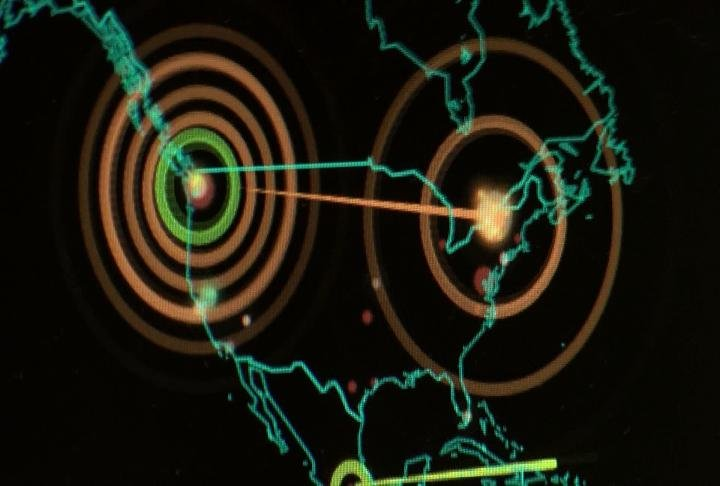 Attacks seen on the United States on website Norse.