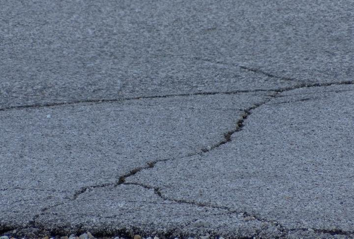 Some of the roads are in need of maintenance.