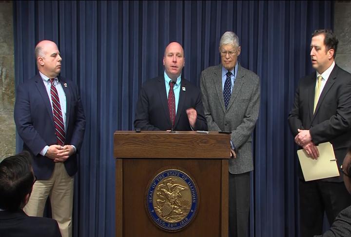 Four Illinois senators, three democrats and a republican, are backing several bi-partisan bills.