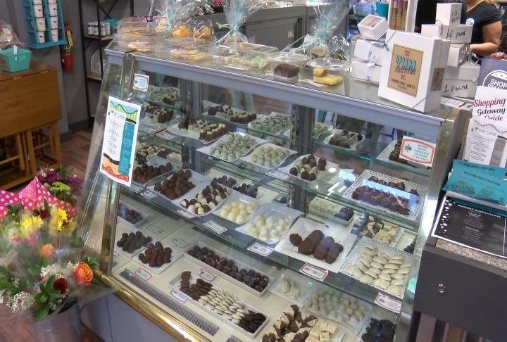 Tasty treats on display during Shop Local Saturday at Yum Factory