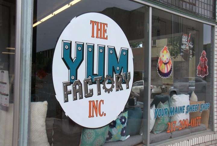 The Yum Factory was just one of 16 local businesses participating in Shop Local Saturday