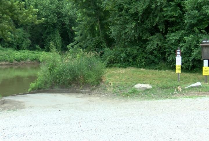 One of 7 conservation area access points in Marion County