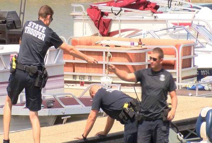 State troopers and the Hannibal Fire Department removed the body from the water.