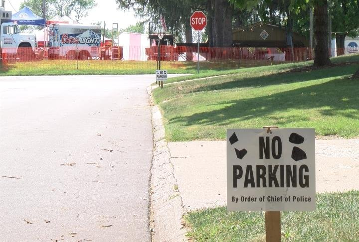 Residents around the festival are concerned with parking and litter issues.