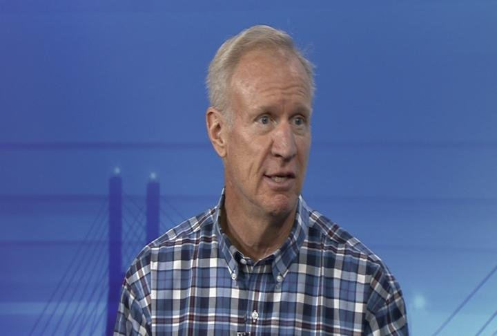 Illinois Governor Bruce Rauner discusses vets' home plans with WGEM News.