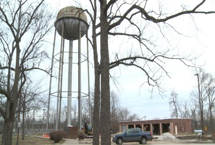 Crews continue to work on water supply to make sure the water tower is working by February.