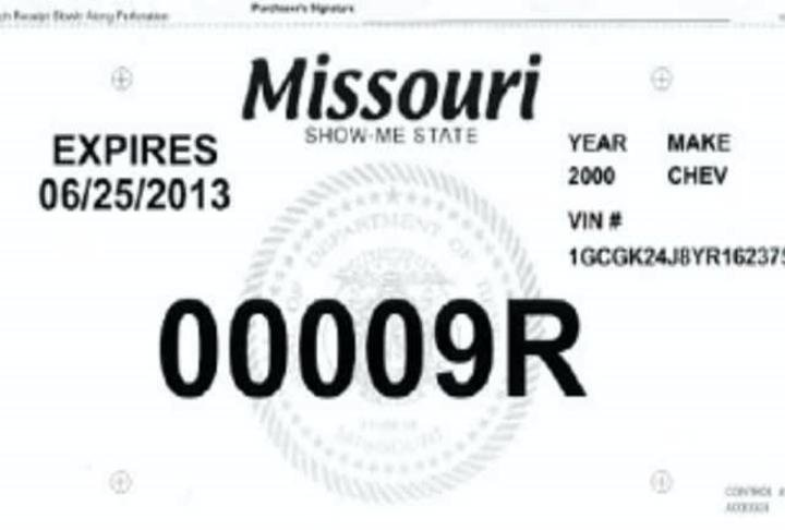 Missouri Department Of Revenue Need For New Car